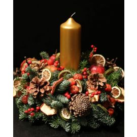 FESTIVE TABLE ARRANGEMENT WORKSHOP 2