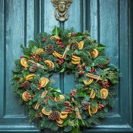 TRADITIONAL WREATH WORKSHOP 6
