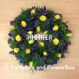 OPEN WREATH 10""
